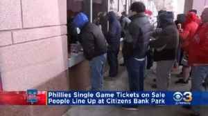 Phillies Single Day Tickets Now On Sale [Video]