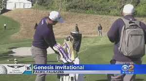News video: Golf Stars In Pacific Palisades For Genesis Invitational