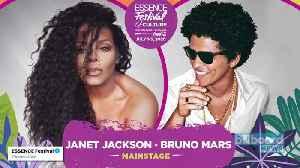 News video: Bruno Mars & Janet Jackson Set to Headline 2020 Essence Festival of Culture | Billboard News