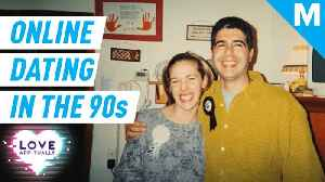 News video: Meet one of the first online dating couples from the '90s - The Puentes
