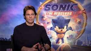 News video: James Marsden Talks 'Sonic The Hedgehog'