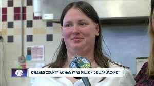 Orleans County woman wins million dollar jackpot [Video]