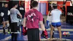 Local UFC fighter aims for the top [Video]