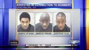 Lynchburg police make arrests; victims robbed at gunpoint [Video]