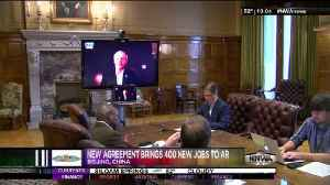 AR Governor Signs Trade Agreement [Video]