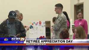 Retiree Appreciation Day at Keesler Air Force Base [Video]