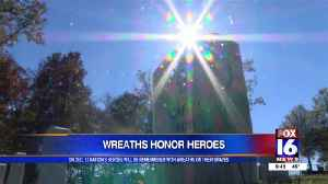 Wreaths for vets [Video]