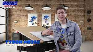 News video: Sonic The Hedgehog movie - How To Draw Sonic