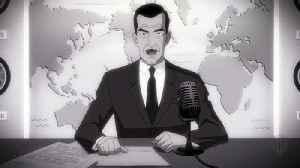 Superman Red Son movie clip - newsreel [Video]