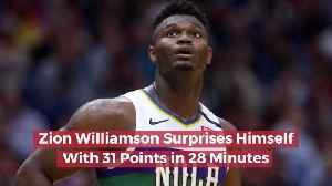 Zion Williamson Is Impressive [Video]