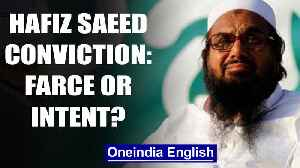 Will Pakistan carry through Hafiz Saeed's conviction? India doubts it | OneIndia News [Video]