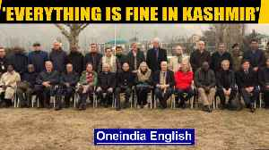 Oppn claims foreign envoys in Kashmir meet only pro-govt groups| OneIndia News [Video]