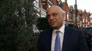Javid: I was left with no option other than to resign [Video]