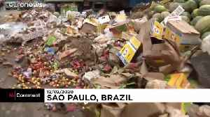 Sao Paulo hit with floods and mudslides after heavy downpours [Video]