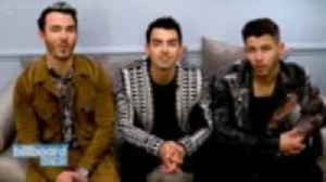 The Jonas Brothers Perform 'What a Man Gotta Do' on 'The Late Late Show'   Billboard News [Video]
