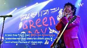 Ed Sheeran 'Fan-Girled' Over Green Day [Video]