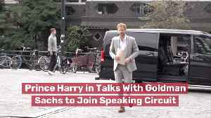 Prince Harry Goes Job Hunting [Video]
