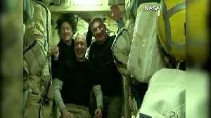 Record-setting female astronaut talks life on earth [Video]
