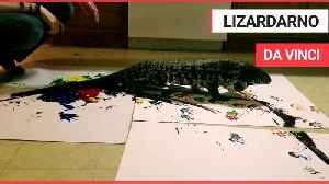 These artistic masterpieces have been created by a massive LIZARD [Video]