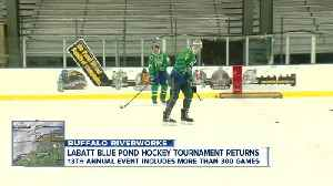 Get your skates ready! Everything you need to know about the Labatt Blue Buffalo Hockey Tournament [Video]