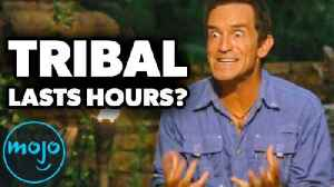 Top 10 Things Survivor Doesn't Want You to Know [Video]
