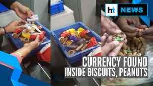 Watch: Currency worth ₹ 45 crores found stuffed inside biscuit packets, peanuts [Video]