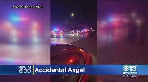 Accidental Angel In Stockton [Video]