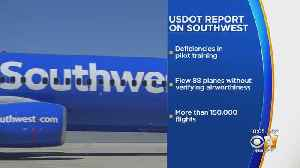 FAA Agrees To Improve Oversight Of Southwest Airlines According To Government Watchdog Report [Video]