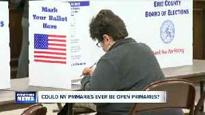 News video: Could New York ever switch to an open primary?