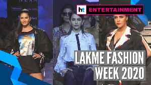 Lakme Fashion Week 2020: Sunny Leone, Rakul Preet, Neha Dhupia dazzle at ramp [Video]