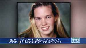 Stockton Students Raise Money For Kristin Smart Memorial Bench [Video]