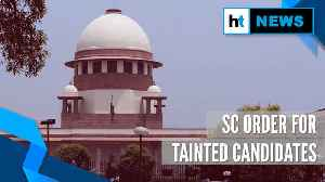 Watch: What SC said on parties fielding candidates with criminal history [Video]