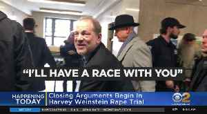 News video: Closing Arguments In Harvey Weinstein Rape Trial