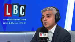 James O'Brien clashes with Sadiq Khan over his Rory Stewart comments [Video]