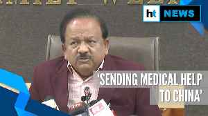 Coronavirus | Sending medical help to China as goodwill gesture: Harsh Vardhan [Video]
