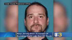 Officials: New Jersey Man Accused Of Running Meth Lab Out Of Pickup Truck Pleads Guilty [Video]