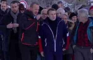 News video: Macron tours France's shrinking glacier