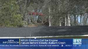 NTSB: Distress Call For Engine Failure Sent Out Before Plane Crash Near Auburn [Video]