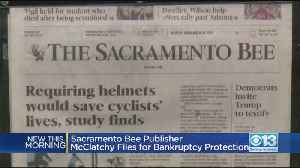 News video: McClatchy, Publisher Of The Sacramento Bee And Other Newspapers, Files For Bankruptcy Protection