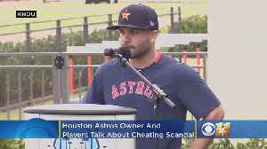 Astros Owner And Players Apologize For Cheating Scandal, Rangers Player Responds [Video]