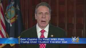 Gov. Cuomo Takes New York Travel Ban Compromise Proposal To Trump [Video]