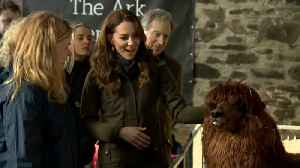 Kate Middleton Visits Farm In Northern Ireland [Video]