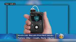 Medtronic Recalls MiniMed Insulin Pumps After 1 Death, Many Injuries [Video]