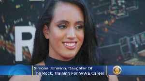 Simone Johnson, Dwayne 'The Rock' Johnson's Daughter, Training For WWE Career [Video]