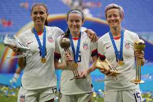 News video: US Men's Soccer Union Supports Increase in Pay for Women