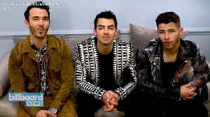 News video: The Jonas Brothers Perform 'What a Man Gotta Do' on 'The Late Late Show'   Billboard News