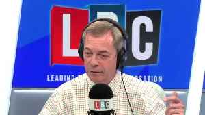 Caller leaves Nigel Farage laughing after Boris Johnson hair jab [Video]