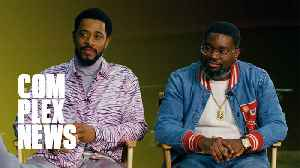 LaKeith Stanfield and Lil Rel Talk 'The Photograph,' Love, and Much More. [Video]