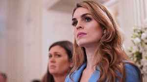 Hope Hicks Leaving Fox to Return to Trump White House | THR News [Video]