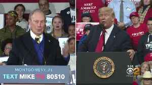 Twitter War Erupts Between President Donald Trump, Former NYC Mayor Michael Bloomberg [Video]